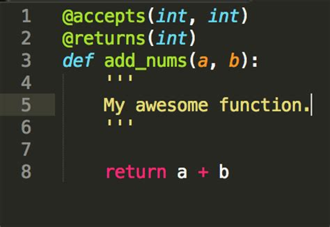 Python Decorators In Classes by Validate Python Function Parameter Return Types With