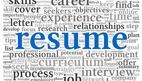 resume dos and don ts career advice tips for