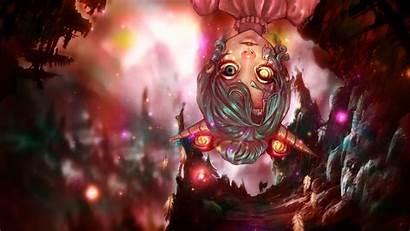 Demon Anime Wallpapers Horn Eyed Deviantart Fantasy