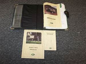 1999 Land Rover Discovery Owner Owner U0026 39 S Operator Guide