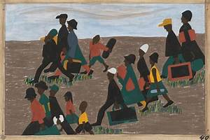 One-Way Ticket: Jacob Lawrence's Migration Series and ...