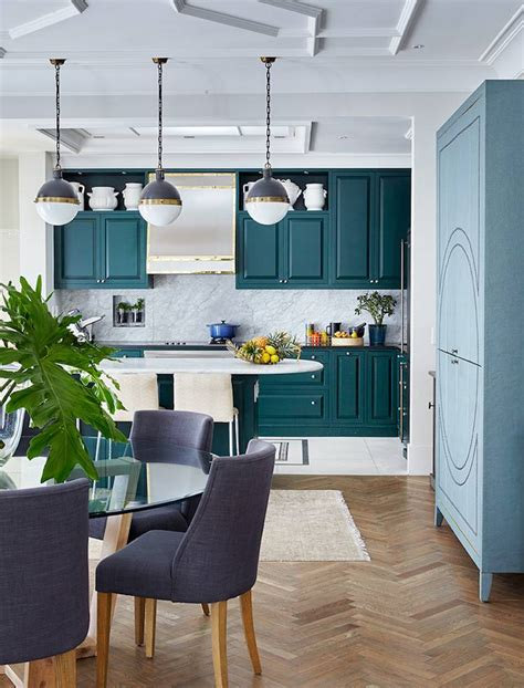 cuisine en bleu stunning cuisine peinte en bleu canard ideas matkin info
