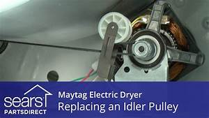How To Replace A Maytag Electric Dryer Idler Pulley