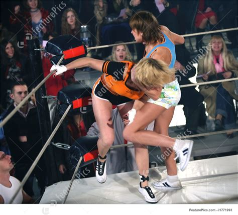 female fight  rules stock picture