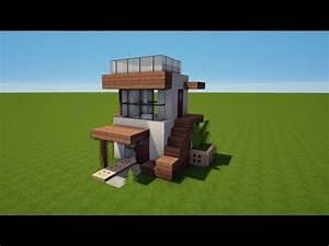 Kleines Haus Bauen Günstig : minecraft 6x6 kleines modernes haus bauen tutorial haus 77 youtube ~ Yasmunasinghe.com Haus und Dekorationen