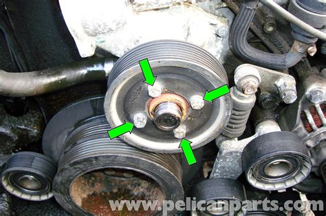 bmw   series cooling pump removal