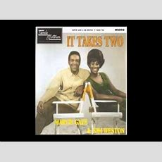 Marvin Gaye & Kim Weston It Takes Two Collaboration Cover
