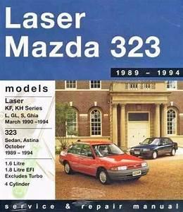 Ford Laser Mazda 323 Astina 1989