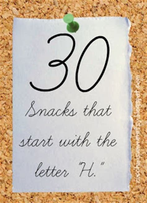 foods that start with the letter w zucchini summer 30 letter h snacks 27325