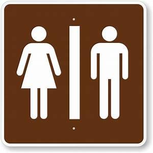 bathroom signs for parks With bathroom signa