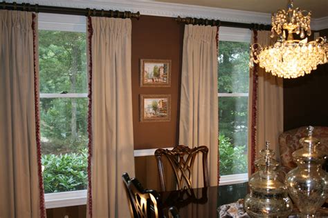 design notes redecorating dining room window treatments