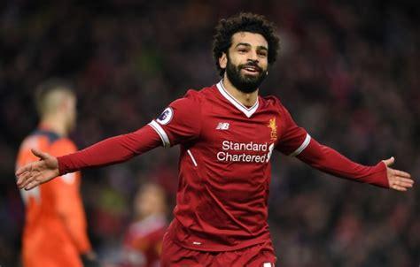 Mohamed Salah Goal Celebration Sports Football Goal