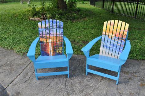 painted adirondack chairs chairs