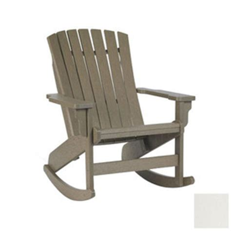 shop siesta furniture westport white plastic slat seat