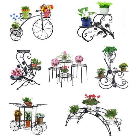metal outdoor indoor pot plant stand garden decor flower