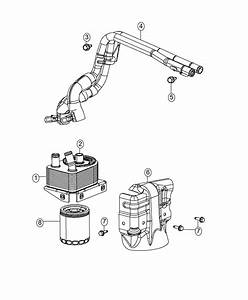 Fiat 500x Cooler  Engine Oil