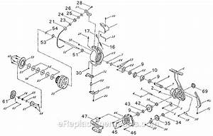 Shakespeare Gx35 Parts List And Diagram