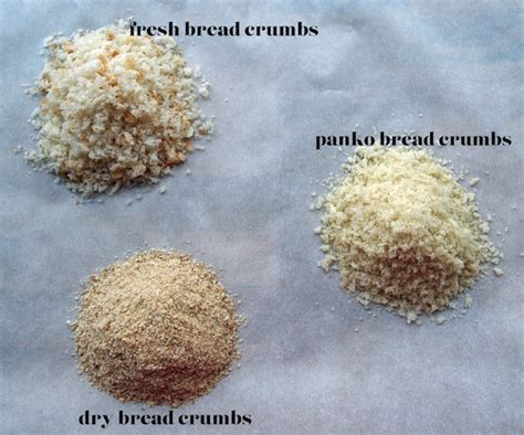 kitchen tip  types  bread crumbs