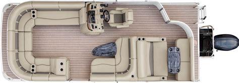 Bennington Pontoon Boats Floor Plans by 2017 24sx Lounge Pontoon Boats By Bennington