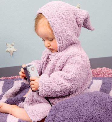 modèle robe de chambre bébé