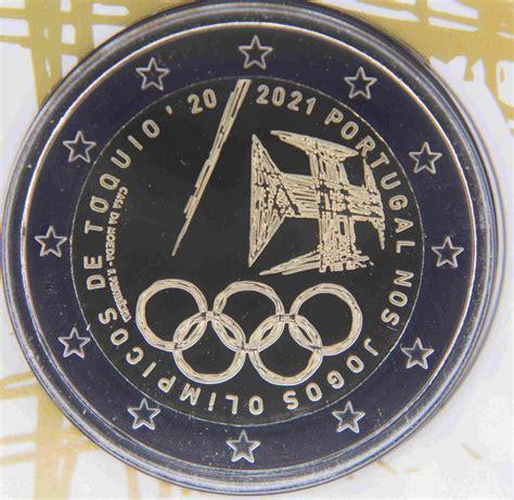 Initialement prévus à l'été 2020. Portugal 2 Euro - Participation aux Jeux olympiques de ...