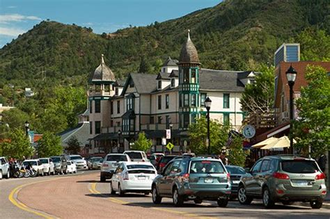 visit historic manitou springs pikes peak country attractions