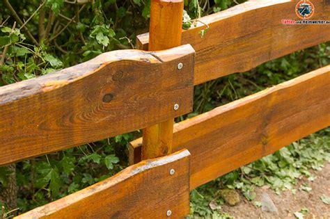 Holzzaun Oder Gartenzaun Selber Bauen Der