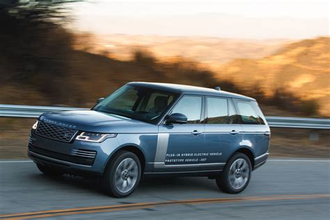 2019 Land Rover Range Rover Phev First Drive London, Here