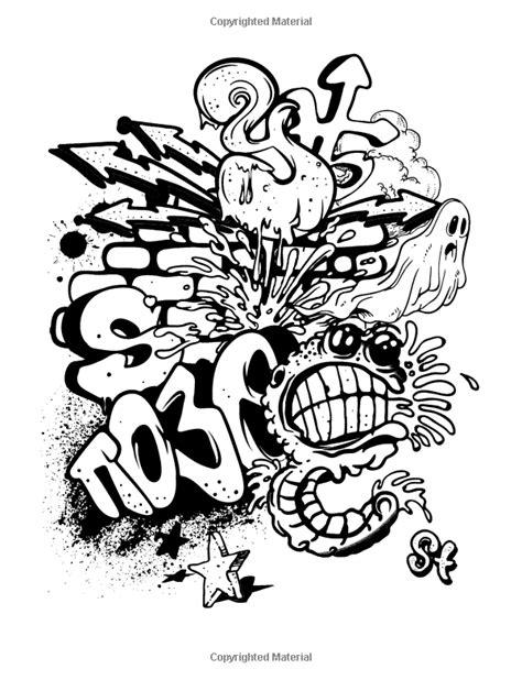Amazon.com: Graffiti Coloring Books for Adults