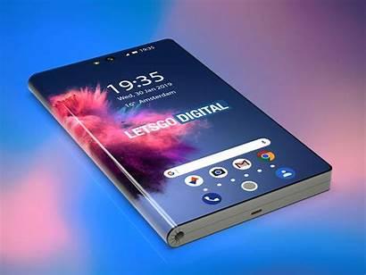 Huawei Smartphone Opvouwbare Letsgodigital Smartphones Renders Prototype