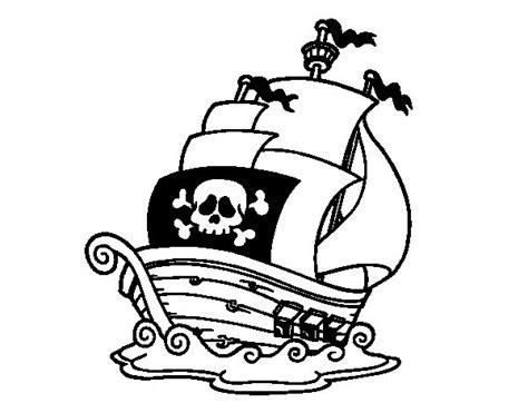 Dibujo Barco Pirata Para Imprimir by Dibujo De Barco De Piratas Para Colorear Dibujos Net