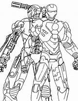 Coloring War Machine Iron Printable Drawing Superheros Occasion Lego Boys Getdrawings Avengers Deviantart Colors sketch template
