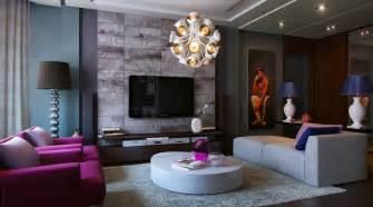 purple livingroom living modern with nature tones color blasts