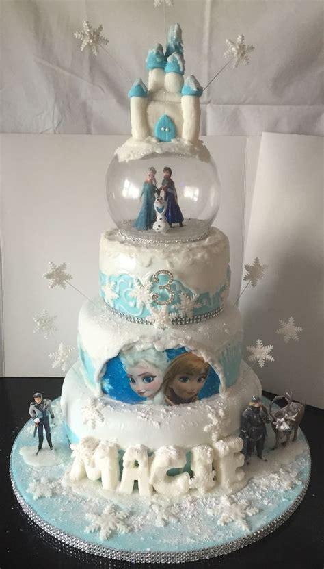 disney frozen  tier cake     niece