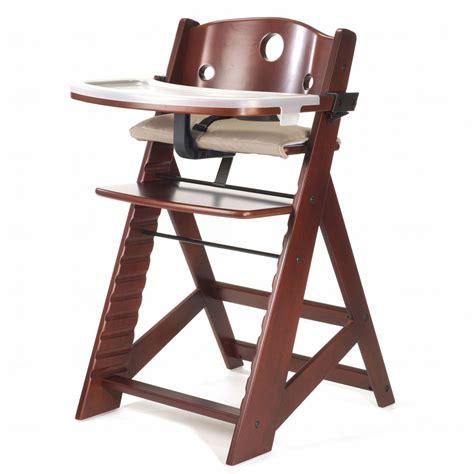 Keekaroo Height Right High Chair With Tray Mahogany Free