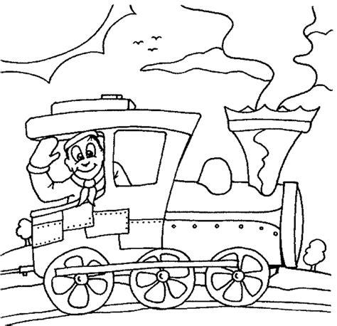 Kleurplaat Trein Met Wagonnetjes by Gratis Kleurplaten Trein