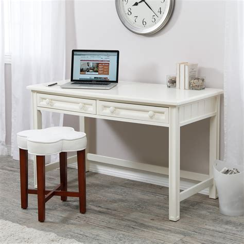 modern white desk with drawers modern white secretary desk furniture with 2 storage