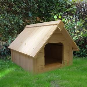 Niche Interieur Pour Chien : niche pour petit chien bois 1 colis 94 x 64 x 20 5 cm gamm vert ~ Melissatoandfro.com Idées de Décoration