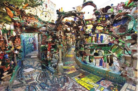 the magic gardens from trash to treasure can you see the magic in philadelphia s magic gardens power of