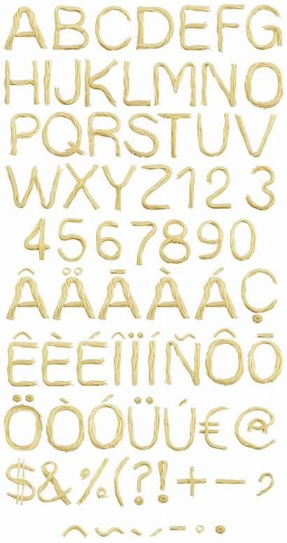 Font Spaghetti Pasta Italian Handmadefont Alphabet Fonts