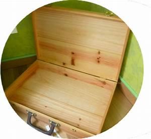 Valise En Bois : diy upcycling une valise en bois en coin d tente ~ Teatrodelosmanantiales.com Idées de Décoration
