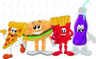 Fast Food Cartoon Clip Art