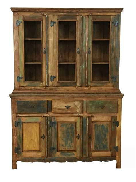Sideboard With Hutch by Reclaimed Wood Buffet Hutch Save The Planet Furniture