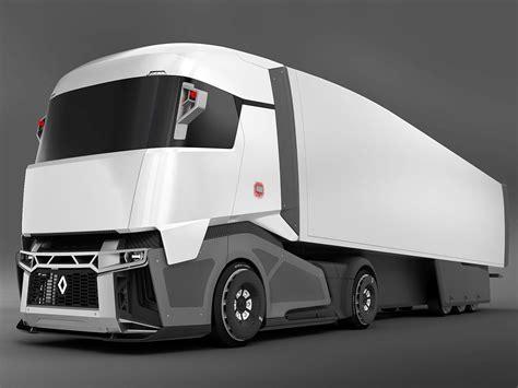 renault cx 03 concept truck 3d model вантажні автомобілі