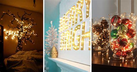 trendy  beautiful diy christmas lights decoration