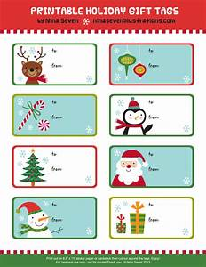 nina seven free printable holiday gift tags With how to print on gift tags