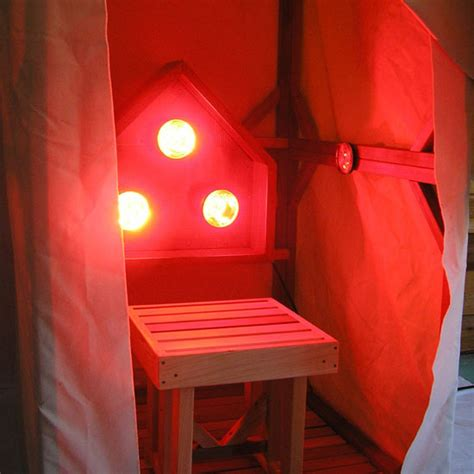 Infrared Sauna Light Box Vertical | Emits Near, Middle and