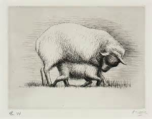 sheep  lamb iv henry moore om ch tate