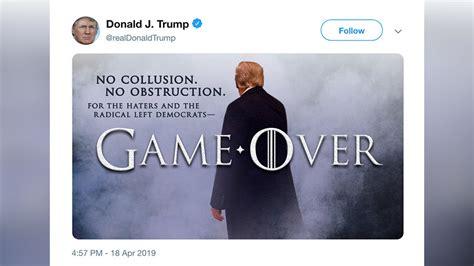 game  trump tweets  attorney general