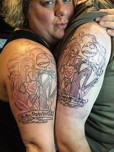 Our matching tattoos of Jack and Sally. Artist David G. - Yelp